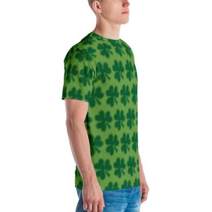 Shamrock Pattern St Patrick's Day Men's T-shirt 3