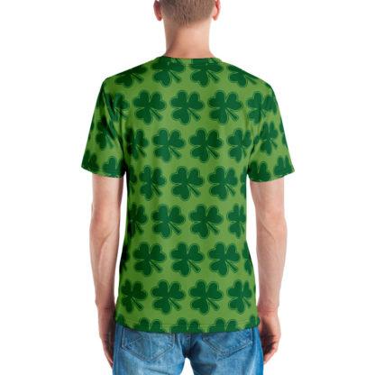 Shamrock Pattern St Patrick's Day Men's T-shirt 2