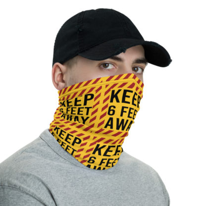 Social Distancing Keep 6FT Face Mask & Neck gaiter -Now Shipping from USA & EU fulfilment centres 3