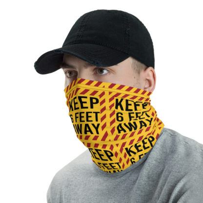 Social Distancing Keep 6FT Face Mask & Neck gaiter -Now Shipping from USA & EU fulfilment centres 2
