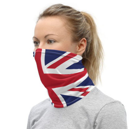 Union Jack Face Mask, British Facemask, UK Flag Neck Gaiter, British Face Mask 3