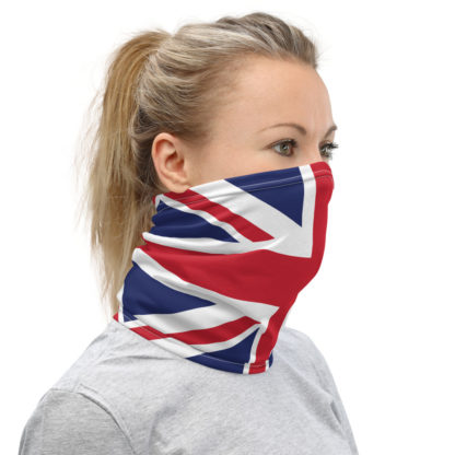 Union Jack Face Mask, British Facemask, UK Flag Neck Gaiter, British Face Mask 2