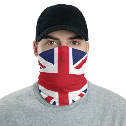 Union Jack Face Mask, British Facemask, UK Flag Neck Gaiter, British Face Mask 1
