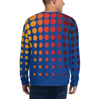 Retro 80s Sweater Back