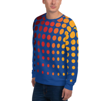 Retro 80s Sweater Side
