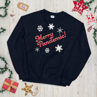 Merry Pandemic Christmas Jumper