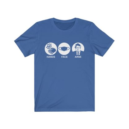 Hands Face Space Parody TShirt