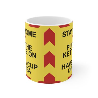 Stay Home Lockdown Humour Mug, Quarantine Fun, Lockdown Gift 1