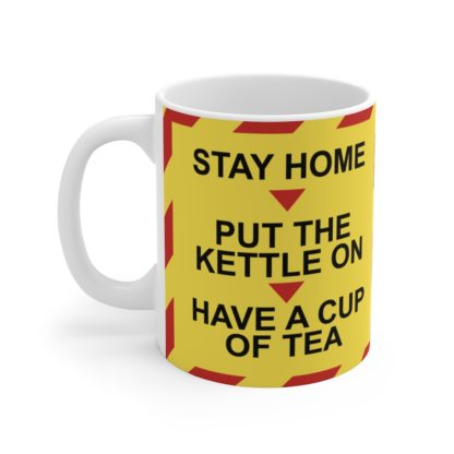 Stay Home Lockdown Humour Mug, Quarantine Fun, Lockdown Gift 2