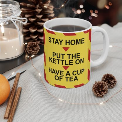 Stay Home Lockdown Humour Mug