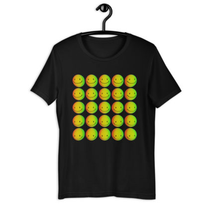 Smiley 3D Art Unisex T-Shirt 1